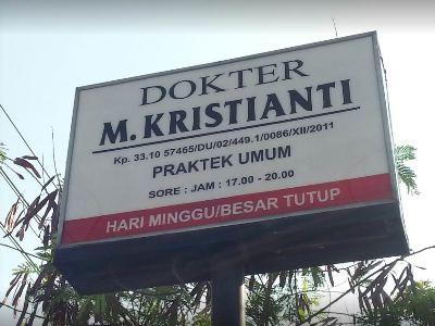 Dokter M. Kristianti – Ceper, Klaten